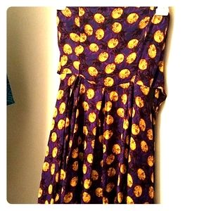 Forever 21 Purple Pineapple dress